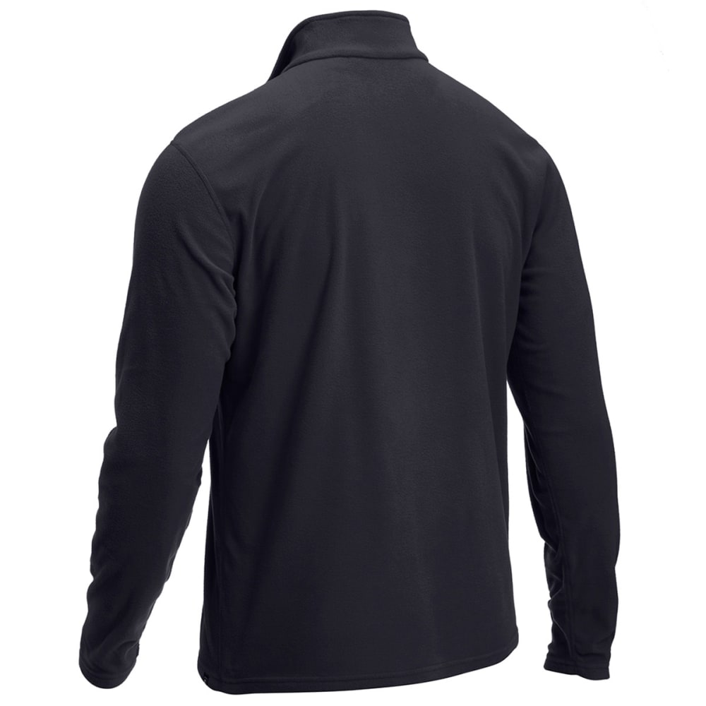 EMS® Men's Classic ¼ Zip Micro Fleece - JET BLACK