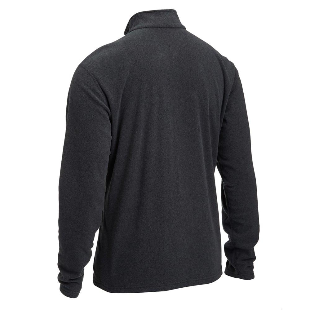 EMS® Men's Classic ¼ Zip Micro Fleece - CHARCOAL HEATHER