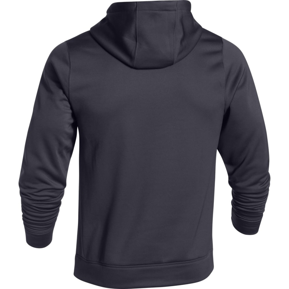 UNDER ARMOUR Men's Rival Fleece Hoodie - STEALTH