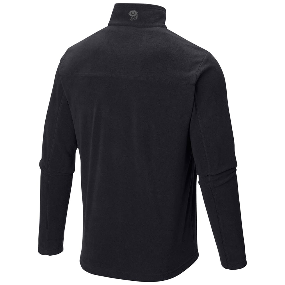 MOUNTAIN HARDWEAR Men's MicroChill   Lite Zip T - SHARK