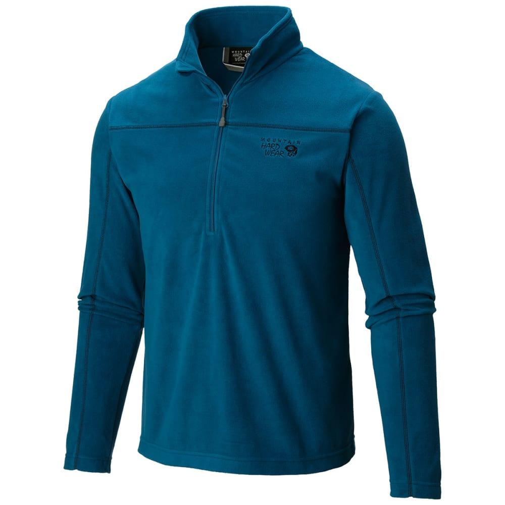 MOUNTAIN HARDWEAR Men's MicroChill   Lite Zip T - PHOENIX BLUE