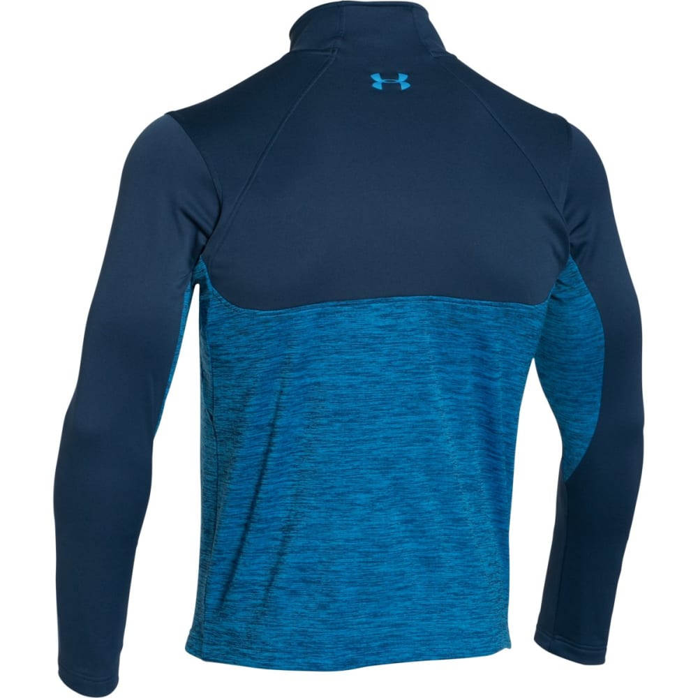 UNDER ARMOUR Men's Gamutlite 1/2 Zip - BLACKOUT NAVY/ ELECT