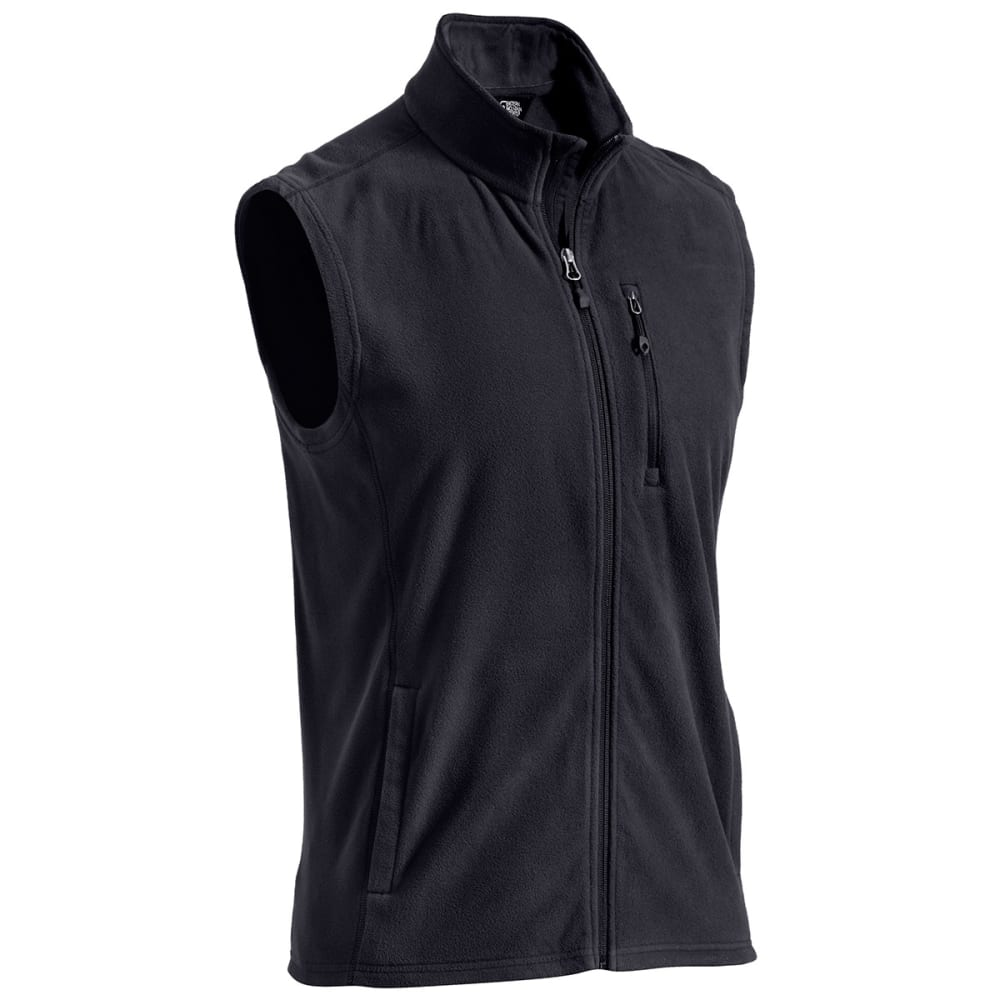 EMS® Men's Classic Micro Fleece Vest - JET BLACK