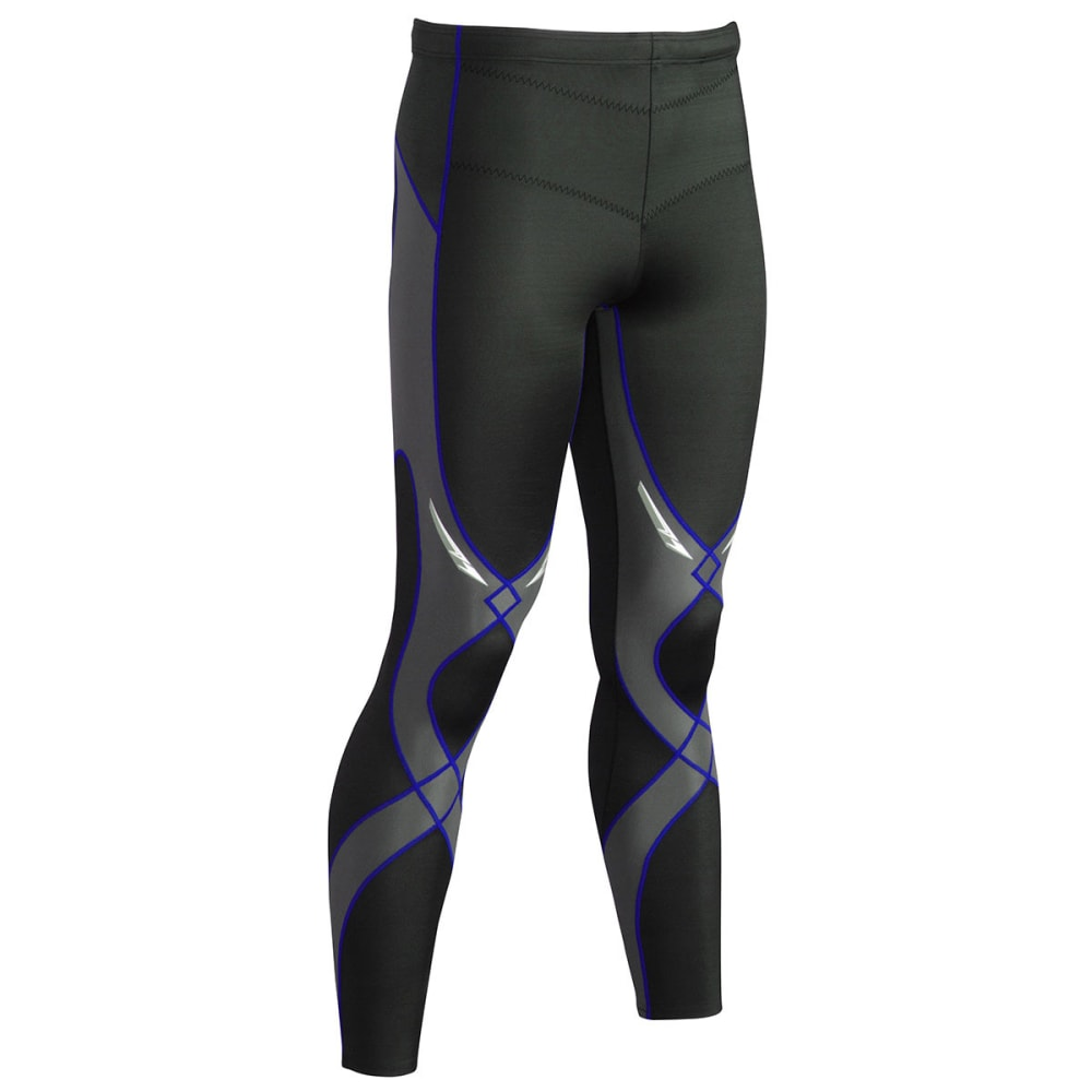 CW-X Men's Stabilyx Tights - BLACK/BLUE