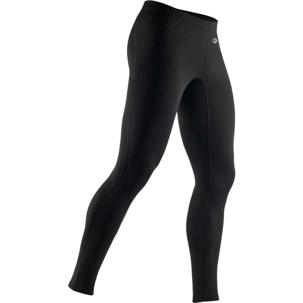 ICEBREAKER Men's Tracer Tights - BLACK