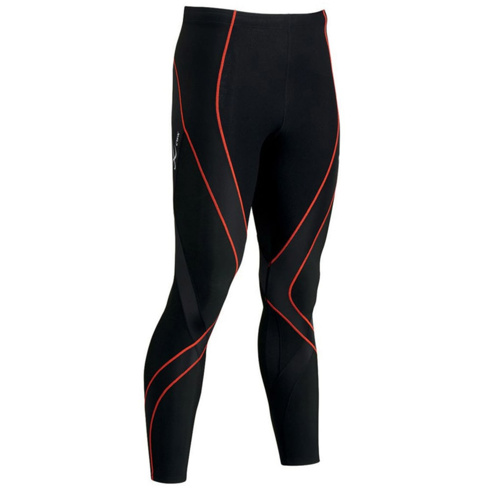 CW-X Men's Insulator Endurance Pro Tights - BLACK/ORANGE