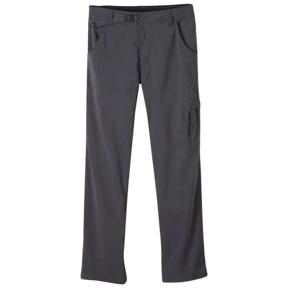 PRANA Men's Stretch Zion Pants, Short - CHARCOAL