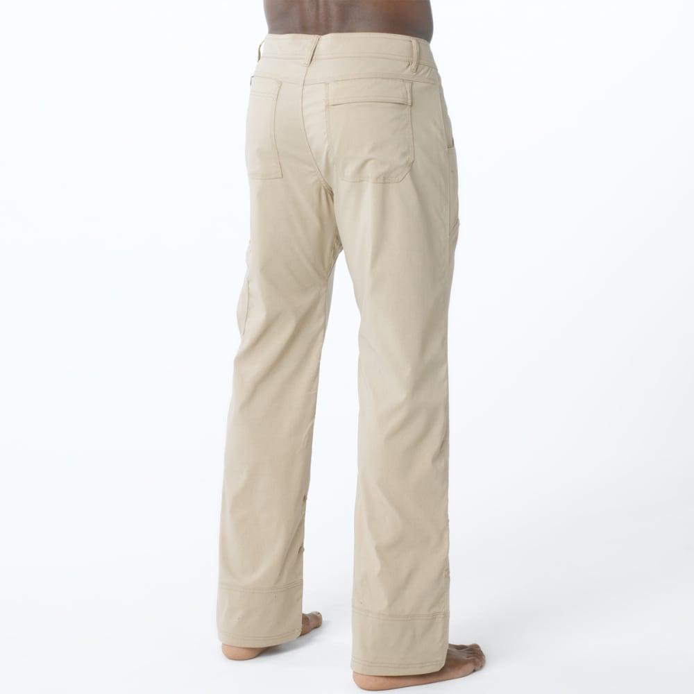PRANA Men's Stretch Zion Pants, Short - KHAKI