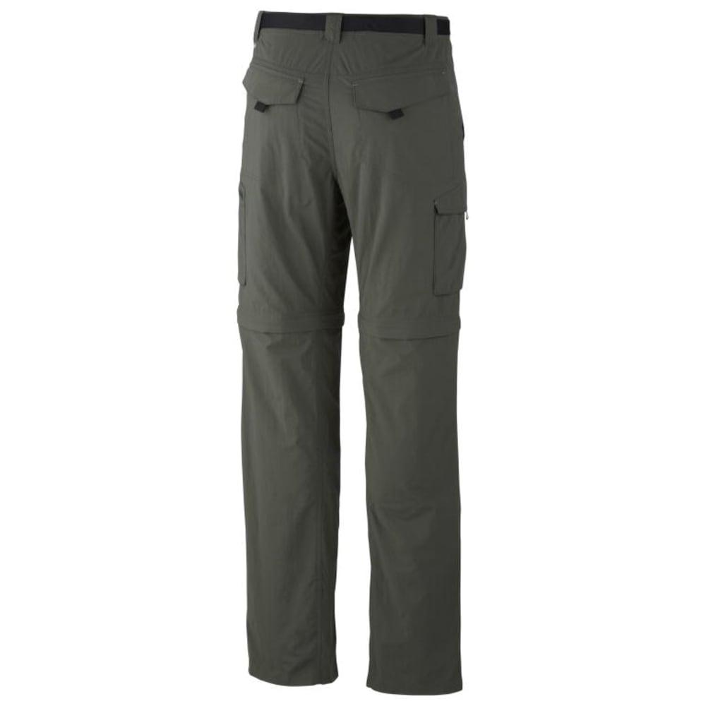 COLUMBIA Men's Silver Ridge Convertible Pants - 339 GRAVEL