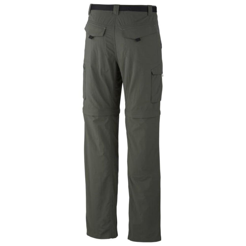 COLUMBIA Men's Silver Ridge Convertible Pants - GRAVEL