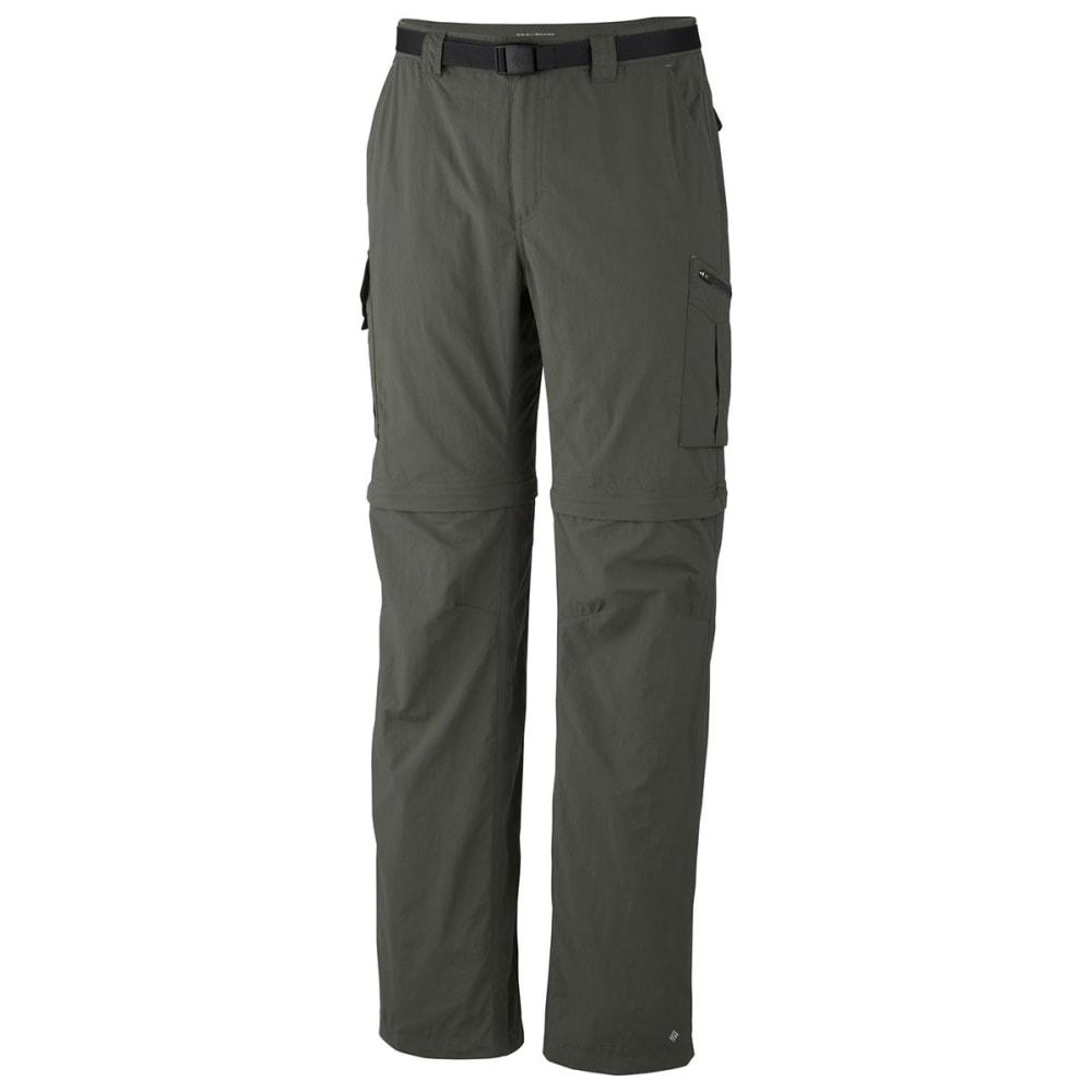 COLUMBIA Men's Silver Ridge Convertible Pants - 339 GRAVEL