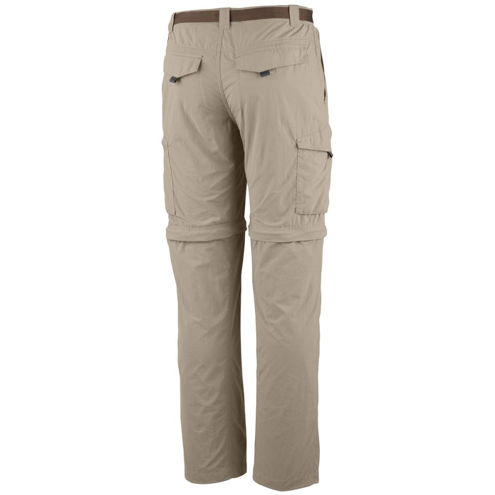 COLUMBIA Men's Silver Ridge Convertible Pants - 160-FOSSIL