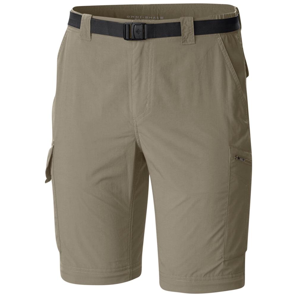 COLUMBIA Men's Silver Ridge Convertible Pants - 221 TUSK