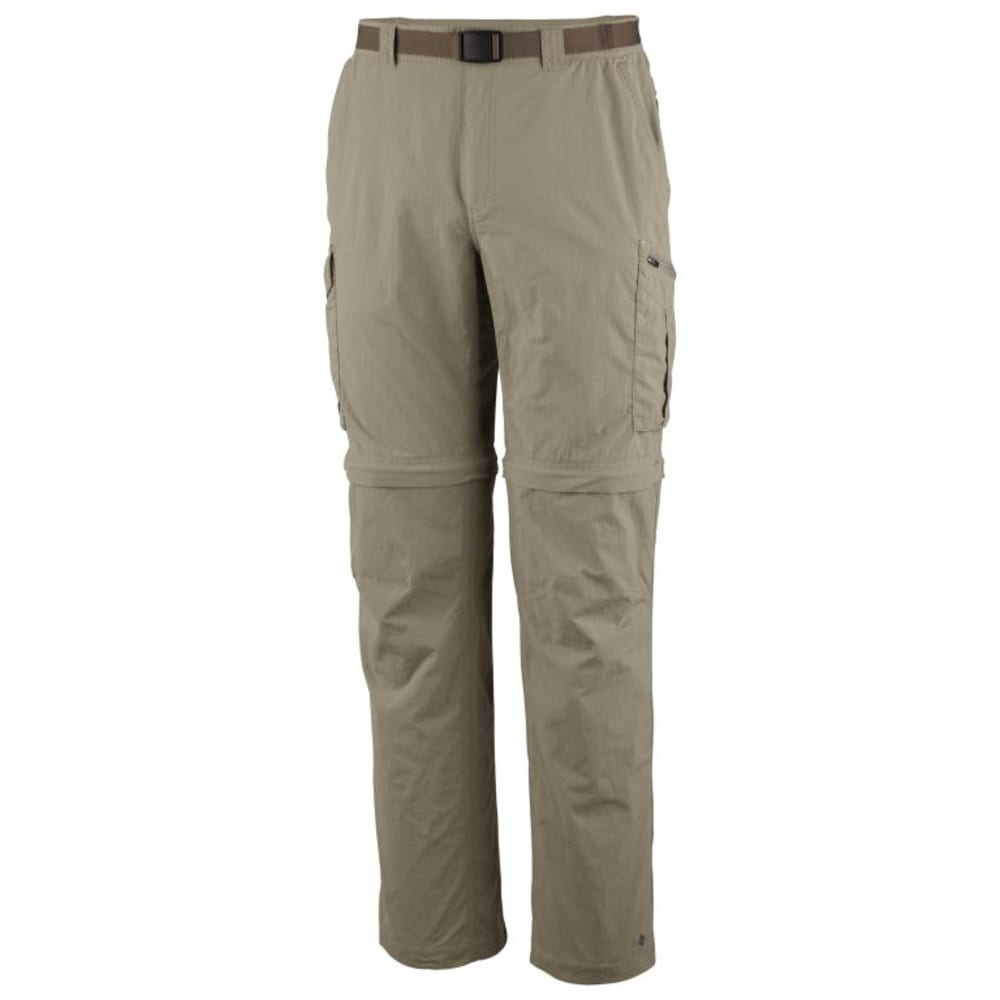 COLUMBIA Men's Silver Ridge Convertible Pants - TAN