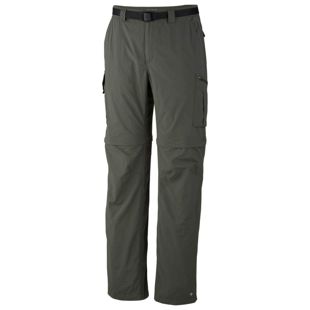 COLUMBIA Men's Silver Ridge Convertible Pants - 339-GRAVEL 30""