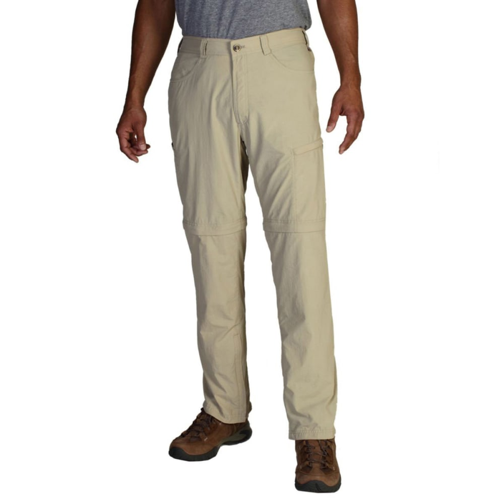 EXOFFICIO Men's BugsAway® Convertible Pants, 32 in.   - LT KHAKI