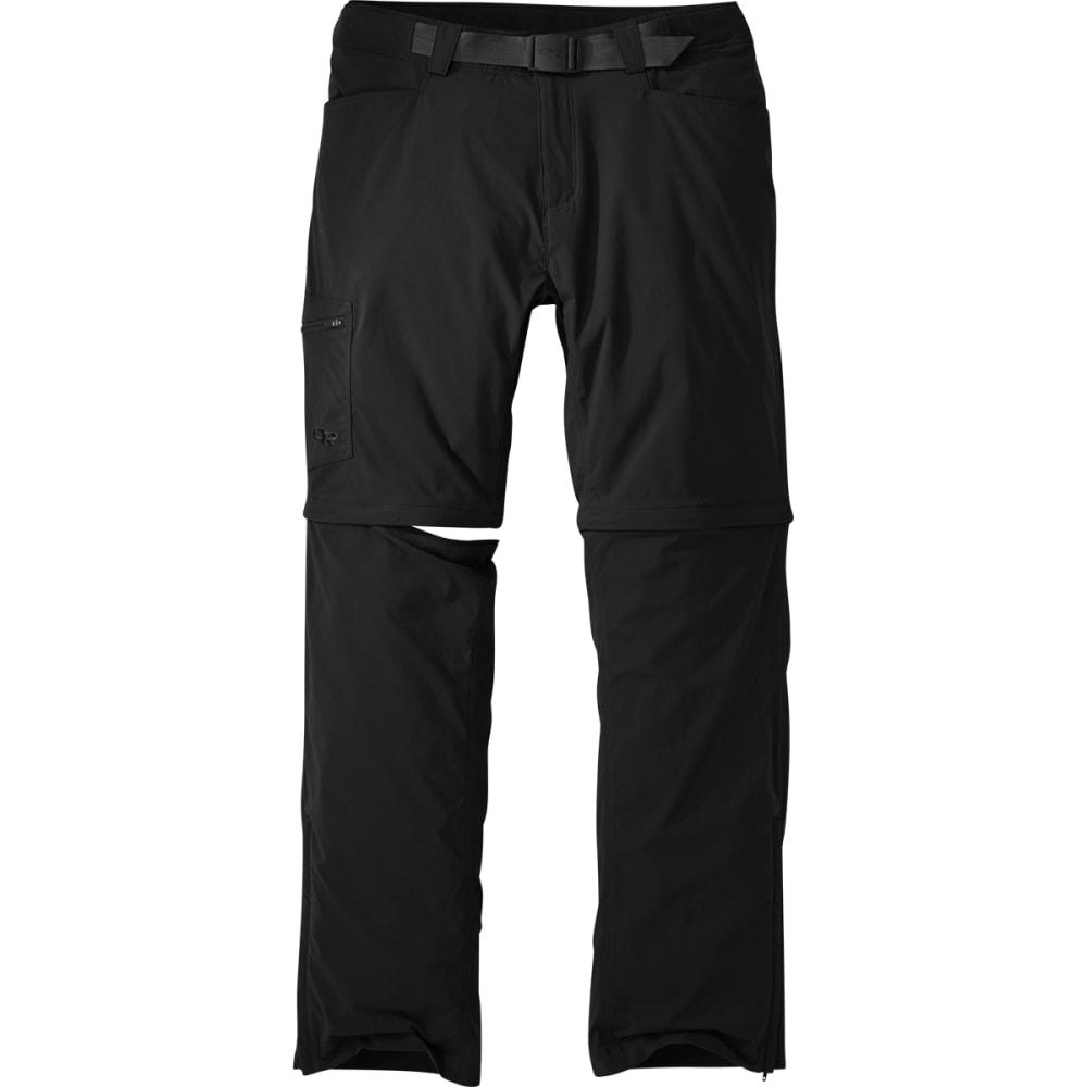 OUTDOOR RESEARCH Men's Equinox Convertible Pants - BLACK