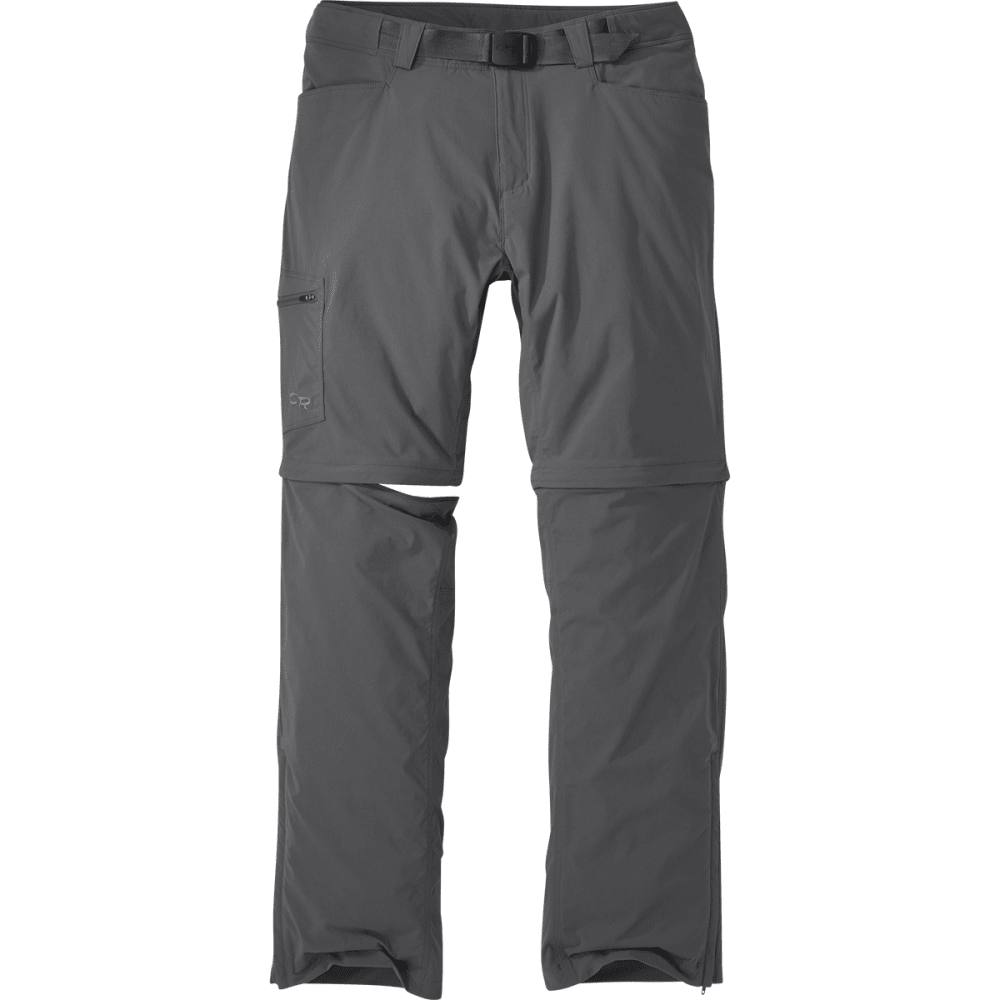 OUTDOOR RESEARCH Men's Equinox Convertible Pants - CHARCOAL