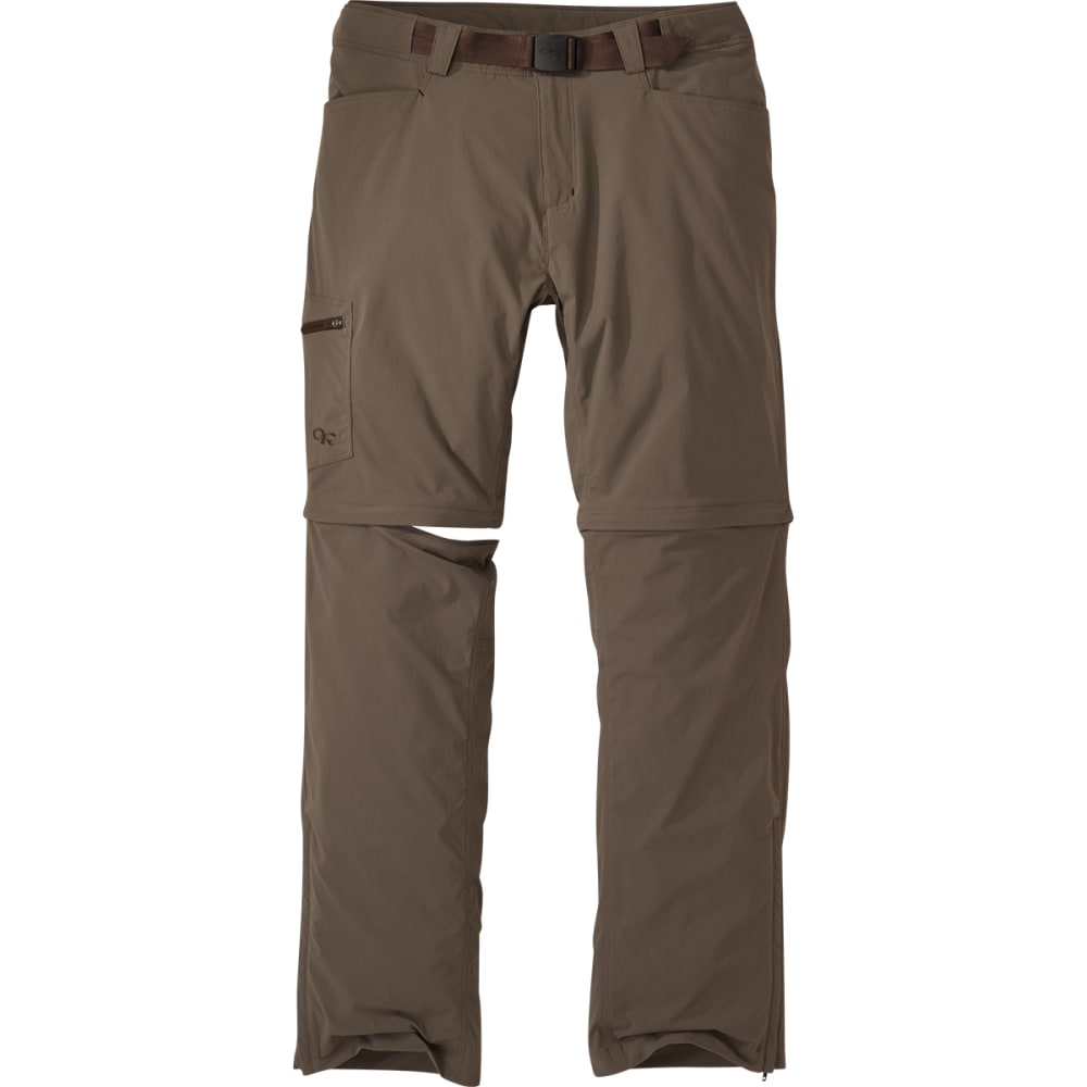 OUTDOOR RESEARCH Men's Equinox Convertible Pants - MUSHROOM