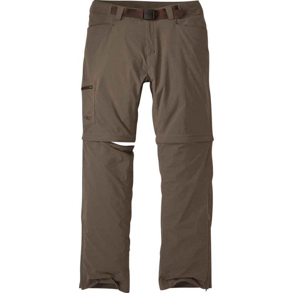 OUTDOOR RESEARCH Men's Equinox Convertible Pants - MUSHROOM