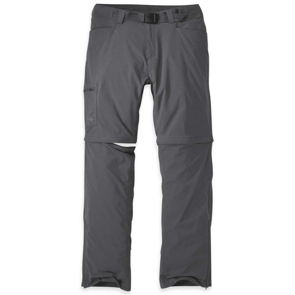 OUTDOOR RESEARCH Men's Equinox Convertible Pants - CHARCOAL - 0890