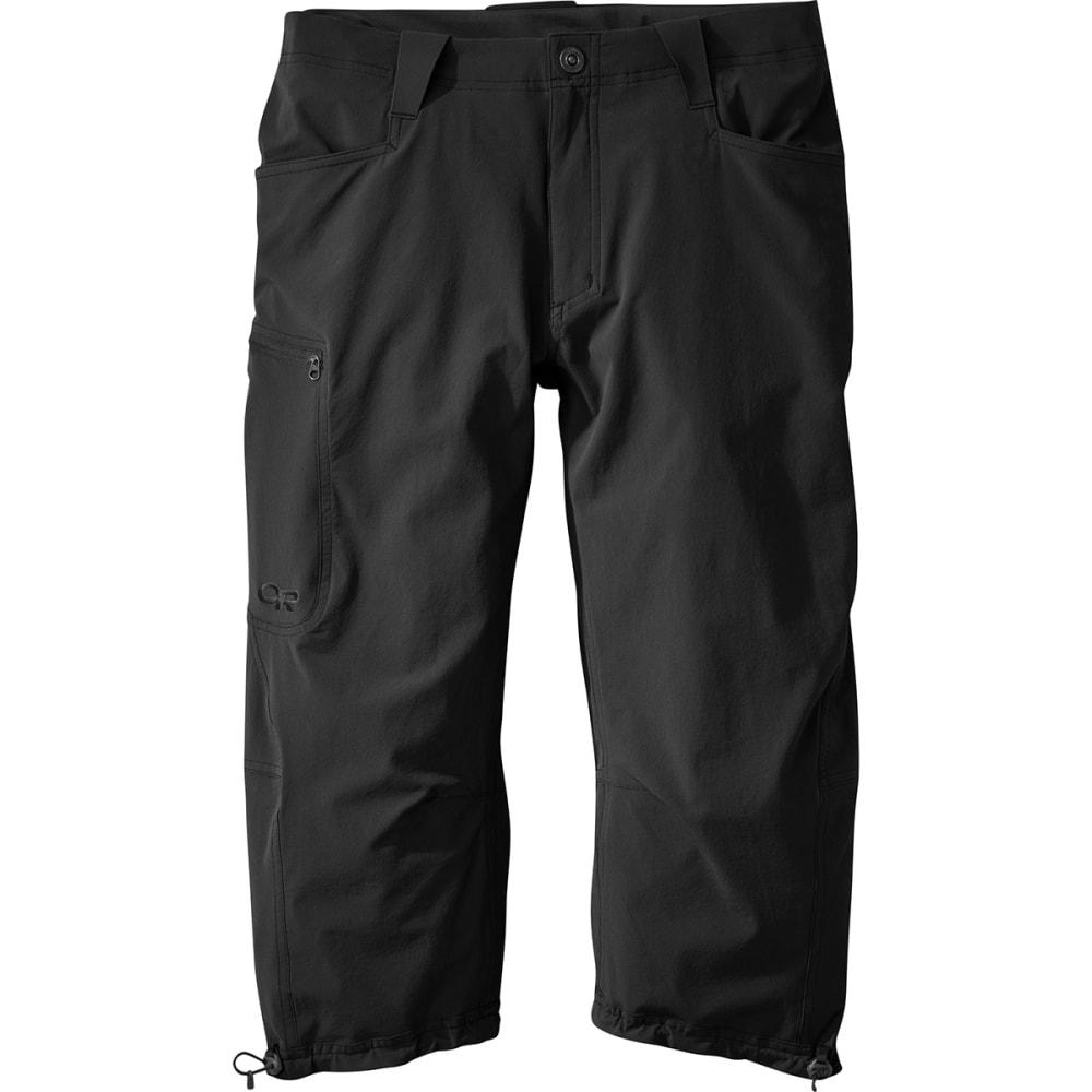 OUTDOOR RESEARCH Men's Ferrosi ¾ Pants - BLACK