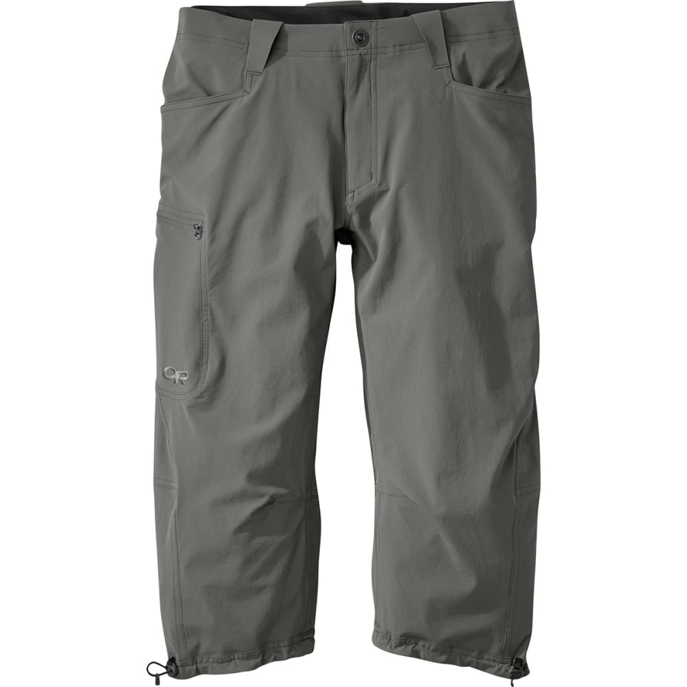 OUTDOOR RESEARCH Men's Ferrosi ¾ Pants - PEWTER