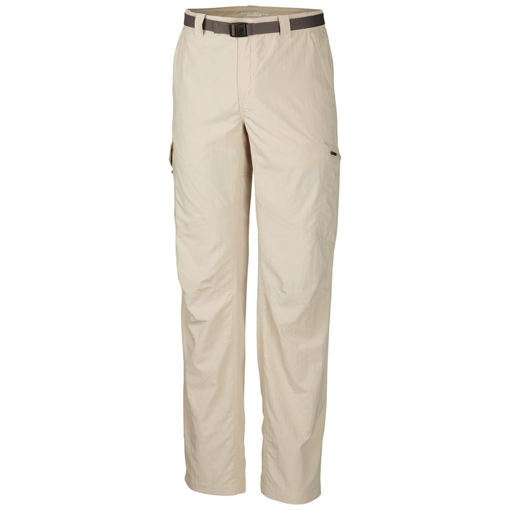 COLUMBIA Men's Silver Ridge Cargo Pants - 160-FOSSIL