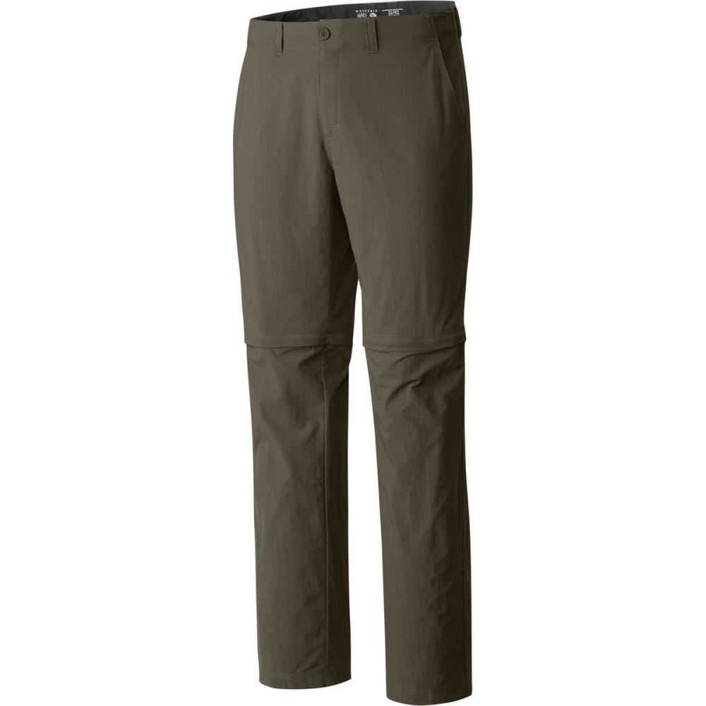 MOUNTAIN HARDWEAR Men's Castil™ Convertible Pant - 397-STONE GREEN