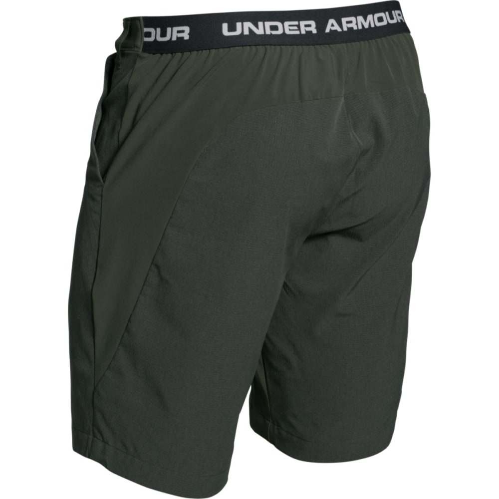 UNDER ARMOUR Men's ArmourVent Trail Shorts - GREEN