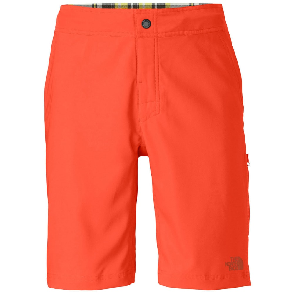 THE NORTH FACE Men's Pacific Creek Board Shorts - ZION ORANGE