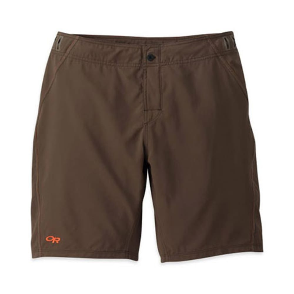 OUTDOOR RESEARCH Men's Backcountry Boardshorts - EARTH
