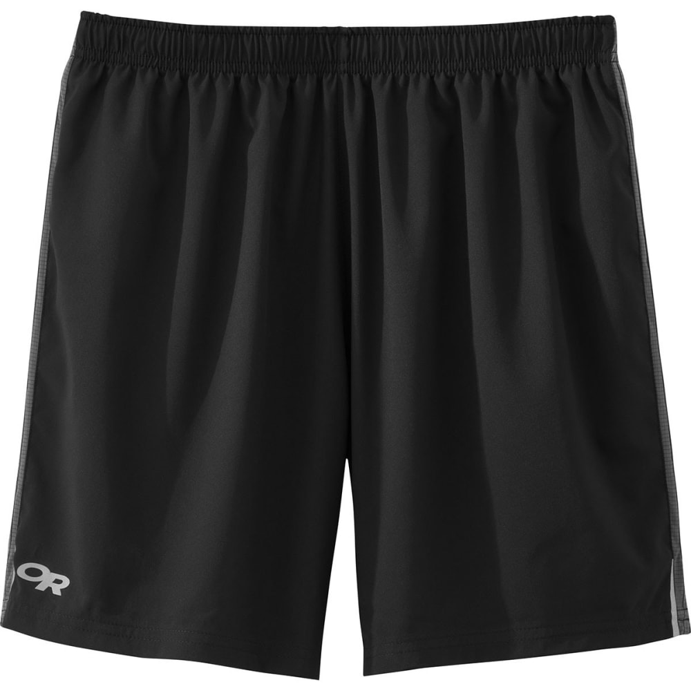 OUTDOOR RESEARCH Men's Turbine Shorts - 0116-BLACK/PEWTER
