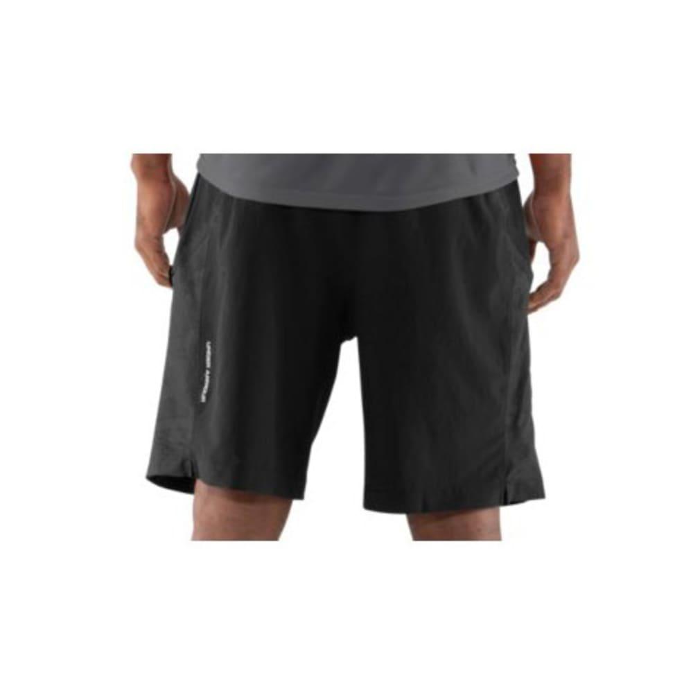 UNDER ARMOUR Men's Escape Woven Shorts - BLACK
