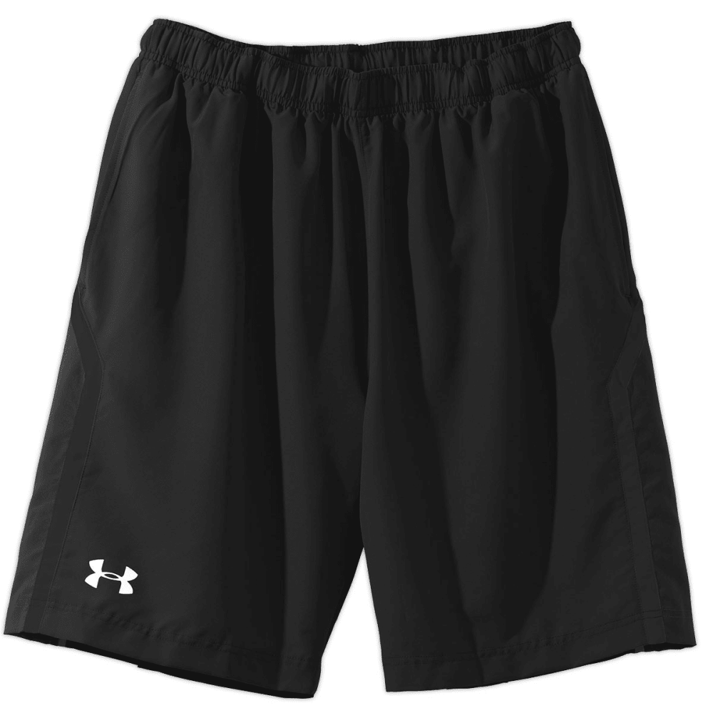 UNDER ARMOUR Men's Escape Woven Shorts - BLACK