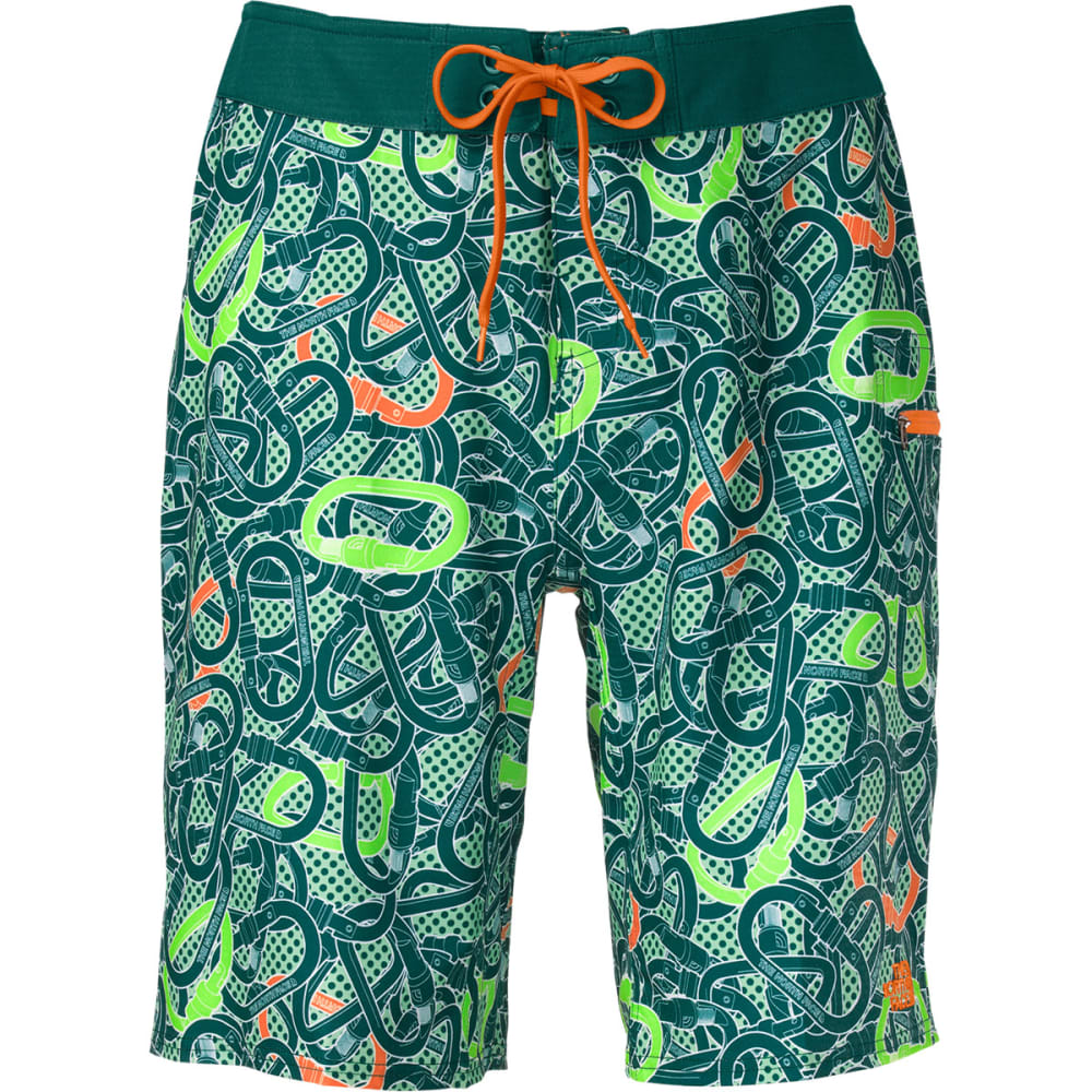 THE NORTH FACE Men's Olas Board Shorts - TEAL BLUE