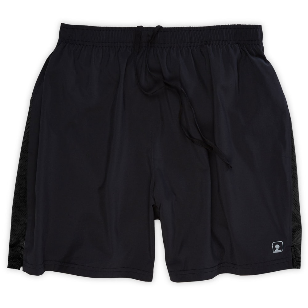 EMS® Men's Excel Running Shorts, 6 in. - BLACK