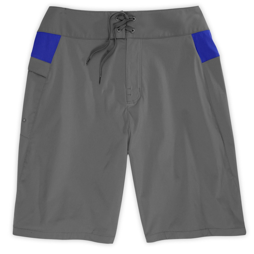 EMS® Men's Stretch Water Shorts, 10 in. - PEWTER