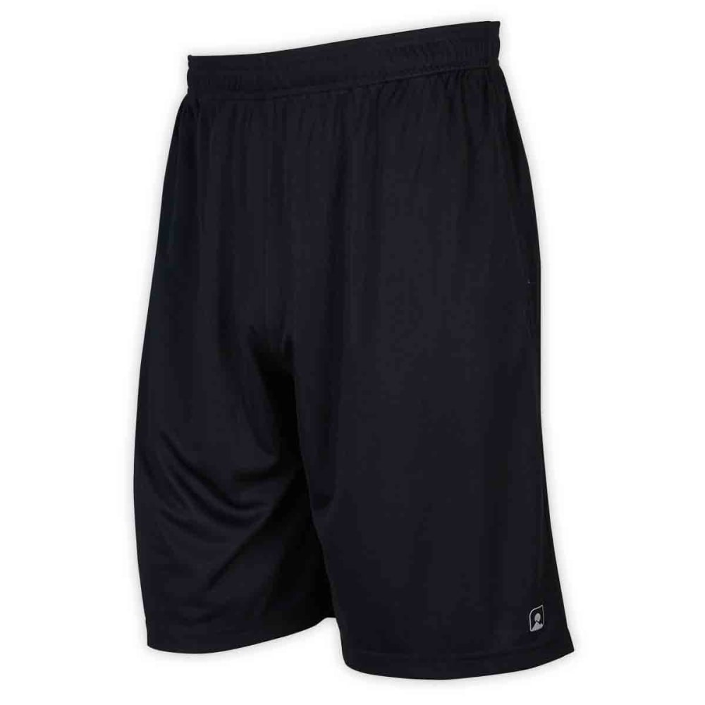 EMS® Men's Core Training Shorts  - JET BLACK