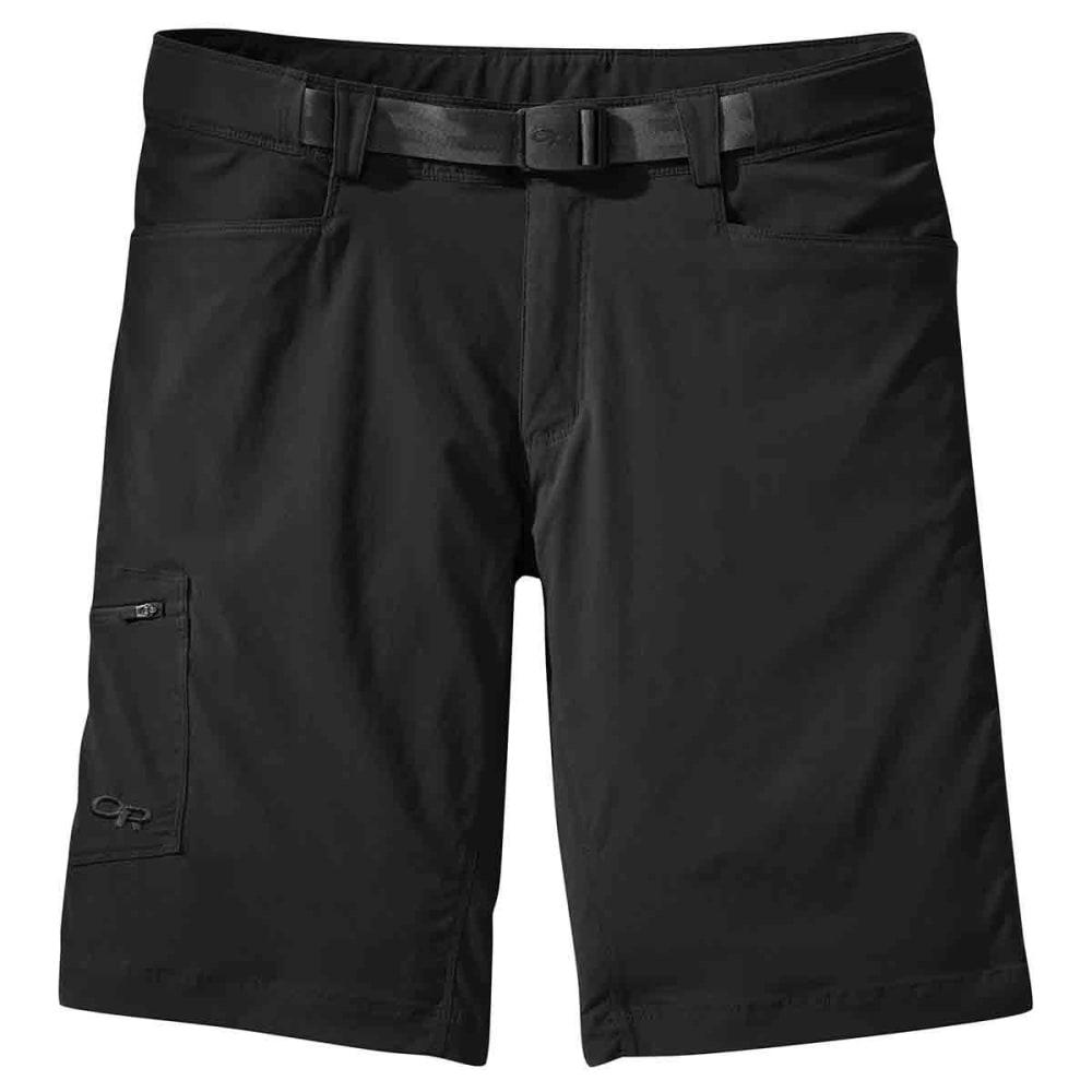 OUTDOOR RESEARCH Men's Equinox Shorts - BLACK