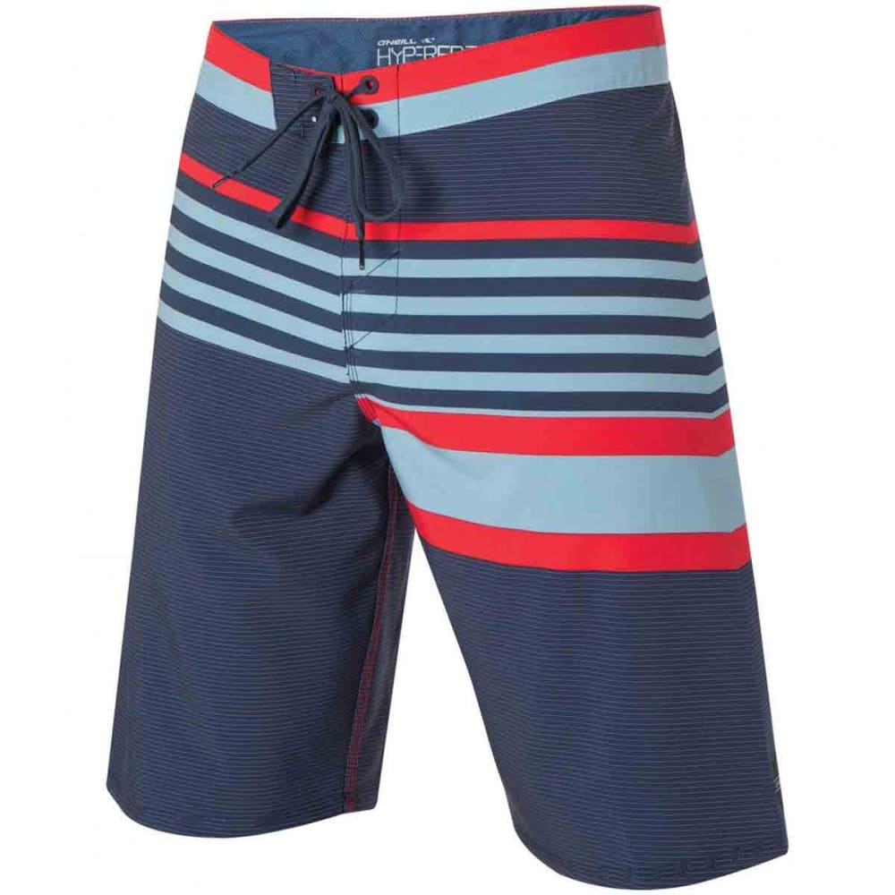 O'NEILL Men's Flexin Hyperfreak Board Shorts - DARK NAVY