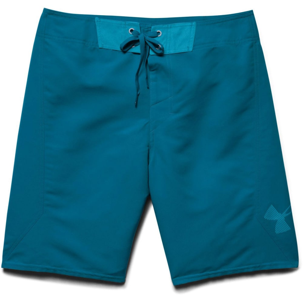 UNDER ARMOUR Men's Mania Board Shorts - SAPPHIRE LAKE