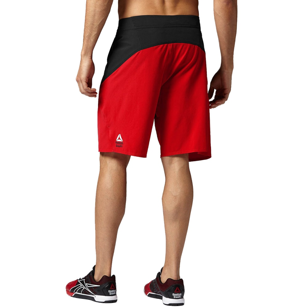 REEBOK Men's CrossFit Cord Shorts - BLACK