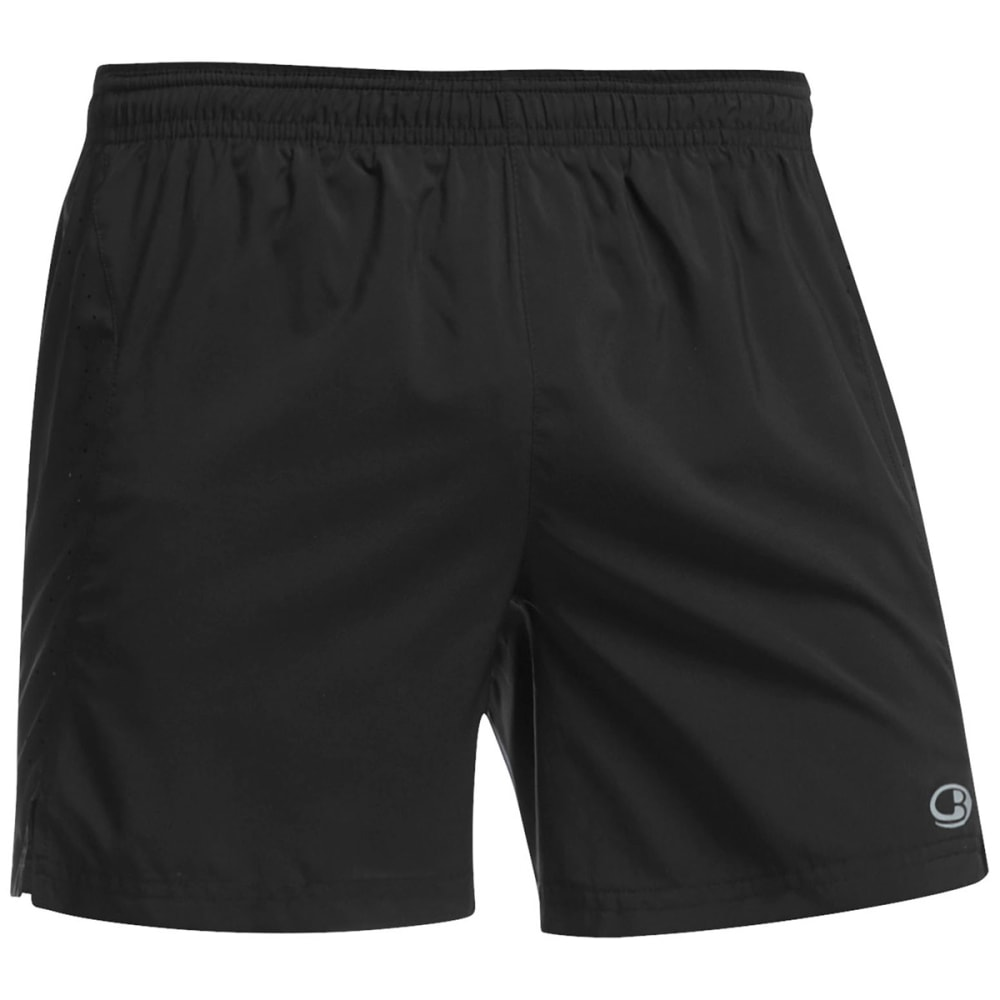 ICEBREAKER Men's Cool-Lite Strike 5 Inch Shorts - BLACK
