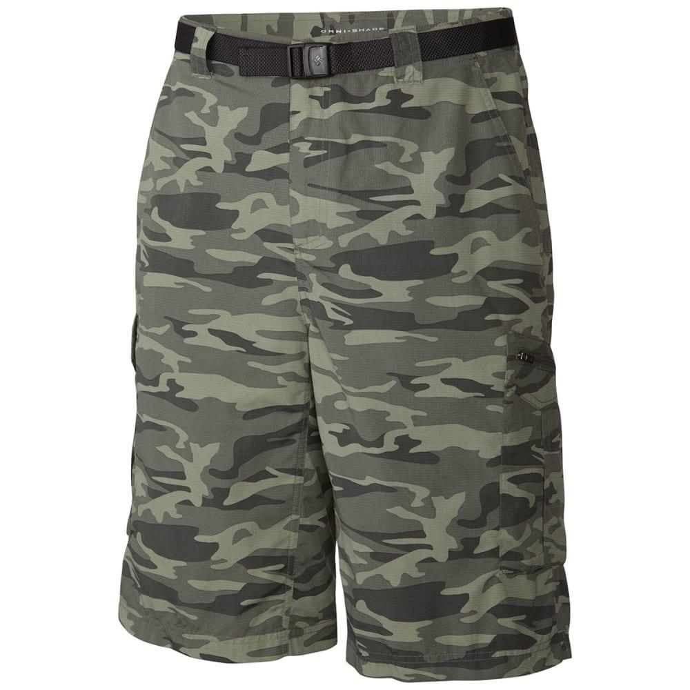 COLUMBIA Men's Silver Ridge™ Printed Cargo Shorts - GRAVEL CAMO