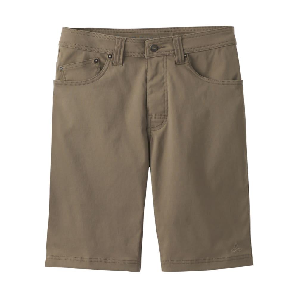 PRANA Men's Brion Shorts, 9-inch - MUD
