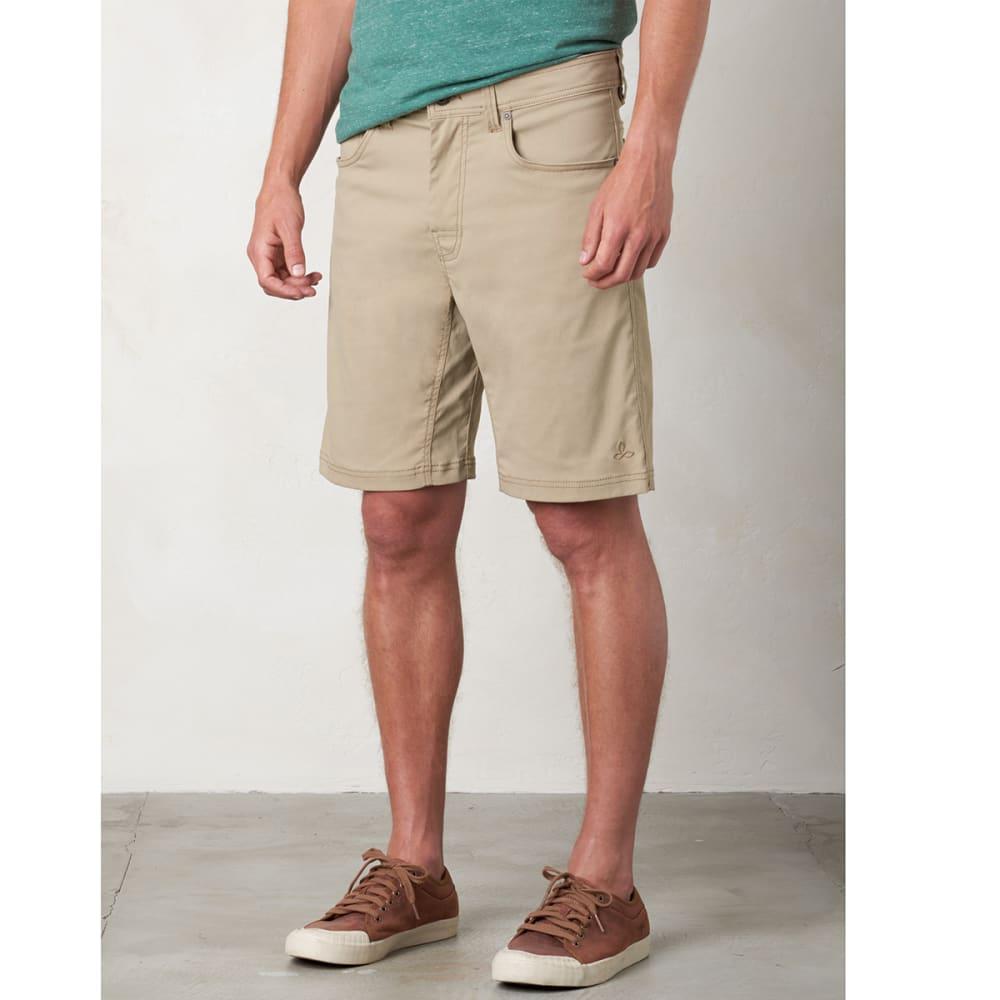 "PRANA Men's Brion 9"" Shorts - DARK KHAKI"