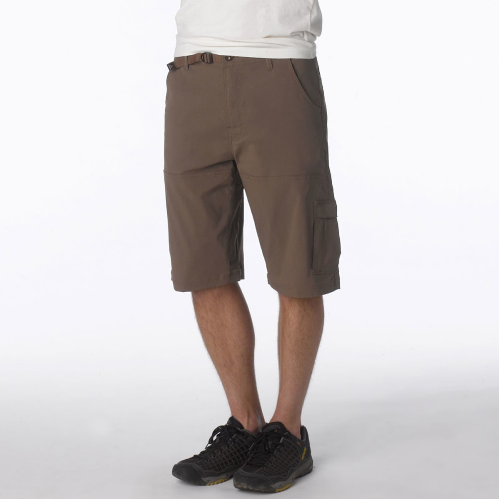 """PRANA Men's Stretch Zion 12"""" Short - MUD-MUD"""