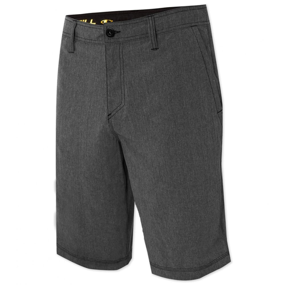 O'NEILL Men's Hybrid Freak Heather Shorts - BLACK