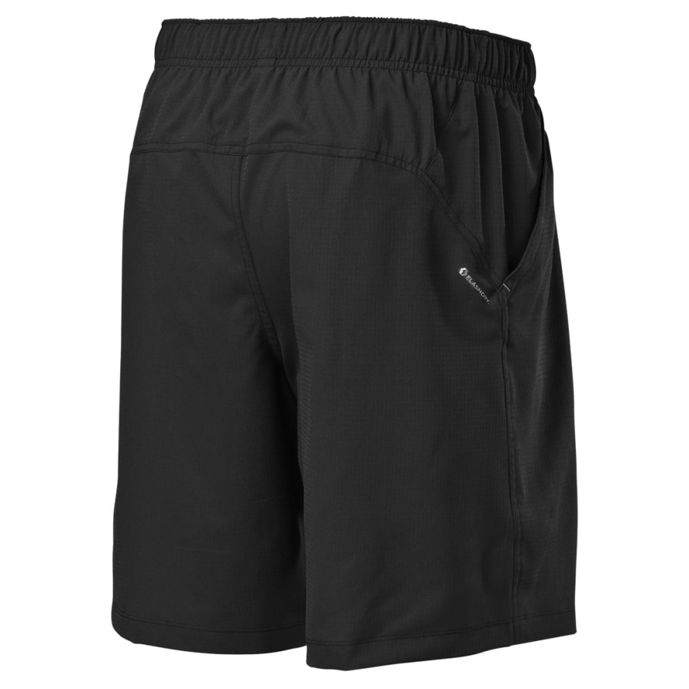 THE NORTH FACE Men's Ampere Dual Shorts - TNF BLACK/ASPHALT GR